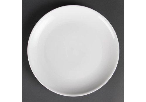 Olympia Wit porselein rond bord 28 cm (stuks 6)