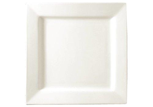 HorecaTraders weiße Platte 17 cm (6 Stück)