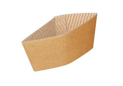 HorecaTraders Cardboard cup holders (1000) | 2 Sizes