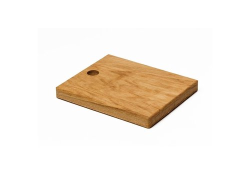 HorecaTraders Cutting board of Oak wood | 23x19cm