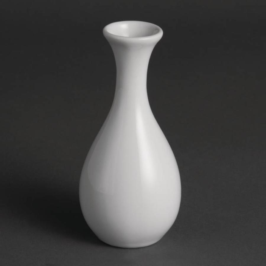 Nieuw Olympia Witte Porselein Tafel Vaasje 13cm | 12 stuks - HorecaTraders UK-55