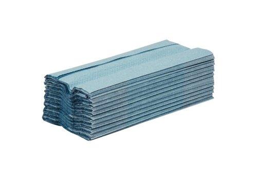 Jantex Dispenser paper towels blue 1 layer