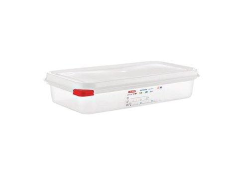 Araven Lebensmittelbehälter 1/3 GN (4 Stück) 2,5 Liter