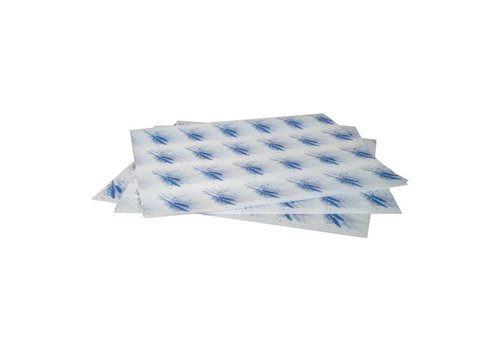 HorecaTraders Papieren hamburger zakje (1000 stuks) | 2 Kleuren