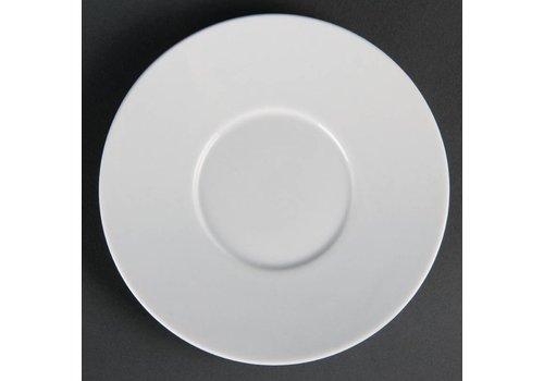Olympia Dish White Front Cups 24 cl (12 Stück)