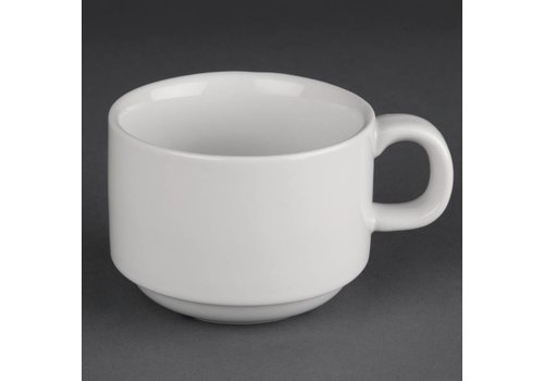Athena Coffee cup white porcelain | 20cl (piece 24)