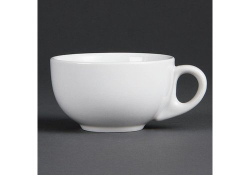 Olympia Cappuccino cup Porcelain White 20 cl (12 Pieces)