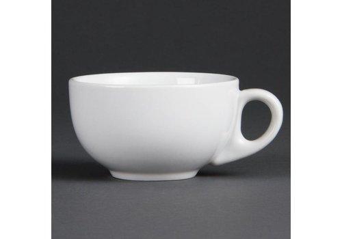 Olympia Cappuccino kop Porselein Wit 20 cl (Stuks 12)
