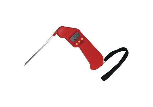 Hygiplas Flesh thermometer red -50 ° C to + 300 ° C