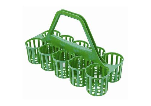 HorecaTraders Gepäckträger für Flaschen und Gläser