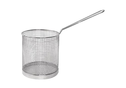 HorecaTraders Stainless Steel Pasta Basket