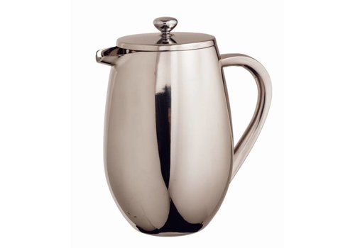 Olympia Stainless Steel Cafetiere 400 ml
