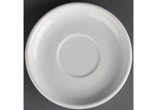 Athena Witte porselein schotel | 14cm (stuks 24)