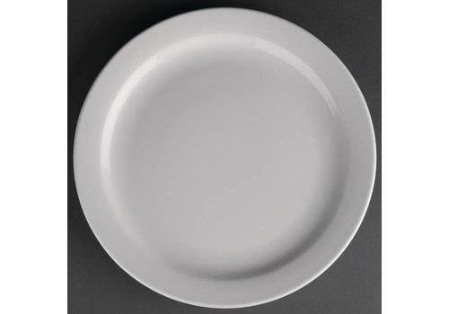 Athena Porcelain plate with narrow edge | 23 cm (piece 12)