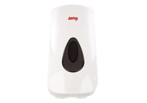 Jantex Kunststoffseifenspender weiß | 90 cl