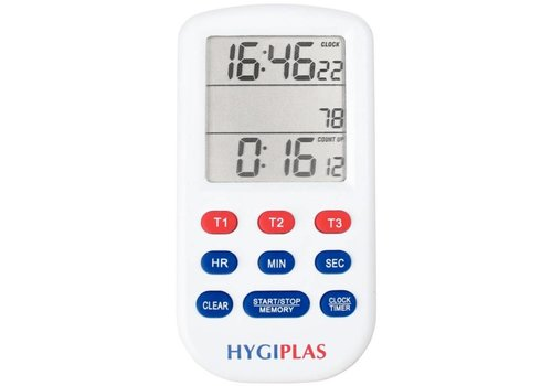 Hygiplas Hygiplas triple cooking alarm clock