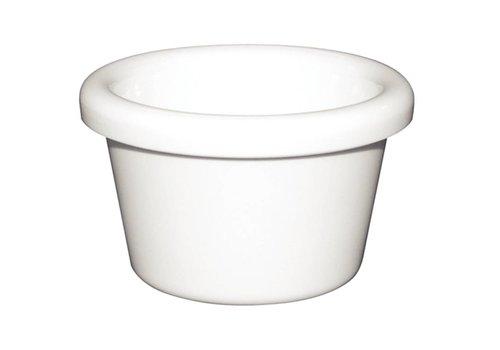 HorecaTraders White Melamine Ramekin 4.3cl | 2 colors