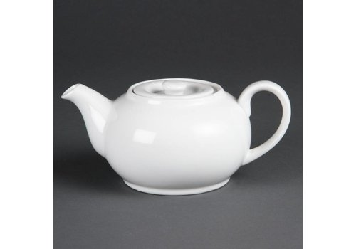 Olympia Tea can porcelain white 42,6 cl (4 pieces)