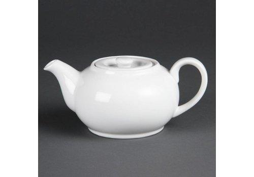 Olympia Tee kann Porzellan weiß 42,6 cl (4 Stück)