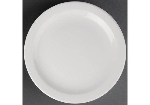 Athena Porcelain plate with narrow edge | 28 cm (piece 6)