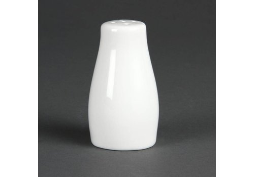 Olympia Pepper caster White Porcelain 9cm | 12 pieces