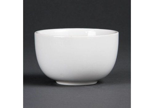 Olympia Porcelain Sugar bowl 20 cl (12 Pieces)