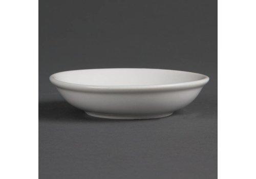 Olympia Porzellan Sauce Schalen 10 cm | 12 Stück