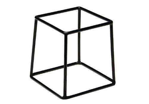 HorecaTraders Buffet Standard Black | 18x18x18cm