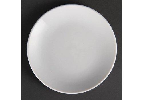 Olympia Wit bord porselein rond 15 cm (stuks 12)