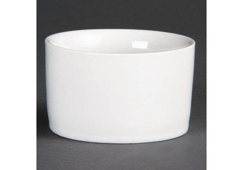 Olympia Porcelain White Round Bowl | 12 pieces