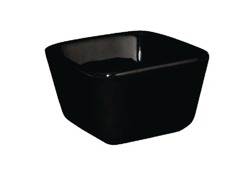 Olympia Mini Black Serving Bowls High | 12 pieces