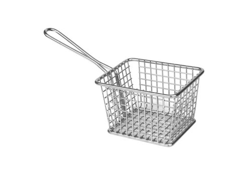 Olympia Stainless steel serving basket | 2 Dimensions