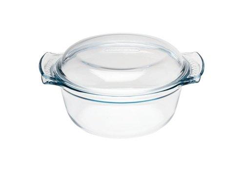 Pyrex Round glass casserole bowl, 3.5 l