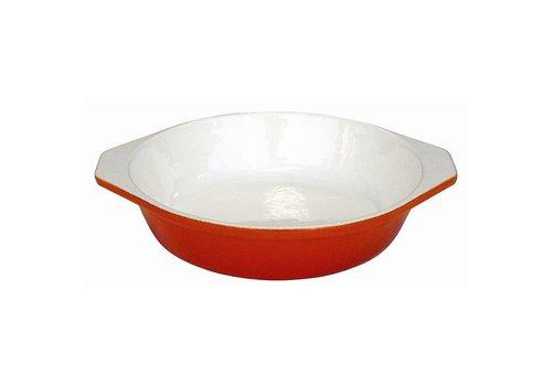 Vogue Gratin Dish Round, 18 cm.