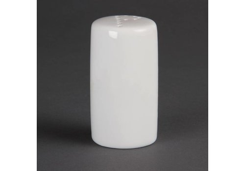 Olympia Pepper shaker White Porcelain 8cm | 12 pieces