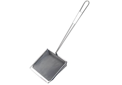 Vogue Grease pans stainless steel 20cm square