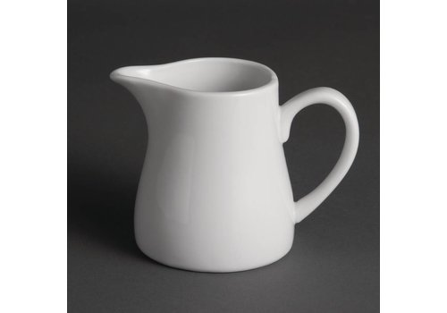 Olympia White porcelain jug 30 cl (6 Pieces)