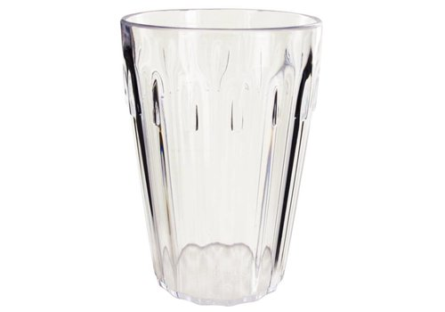 HorecaTraders Polycarbonate drinking glass, 255 ml (12 pieces)