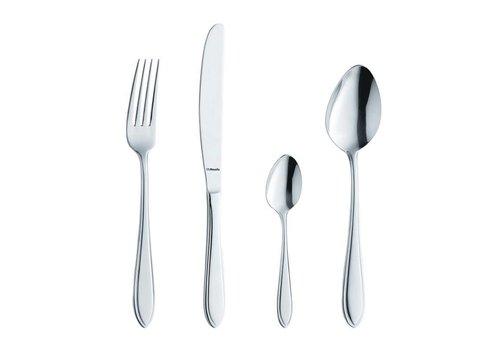 HorecaTraders Tabelle Löffel Edelstahl Catering | 12 Stück