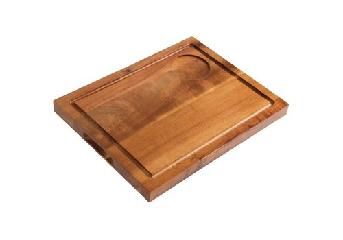 Olympia Wooden Plank Steak with Groove