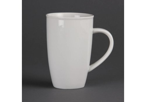 Olympia Big porcelain cup milk. (6 pieces)