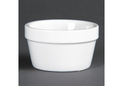 Olympia Round Bowl White Porcelain 8cmØ | 6 pieces