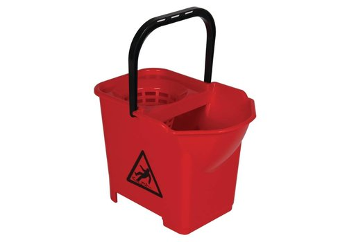 HorecaTraders Mop bucket 14 liter   4 Colours