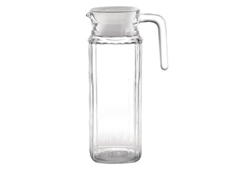 Olympia Glass Pitcher with Lid, 1 liter (6 pieces)