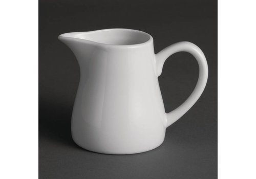 Olympia White porcelain milk jug 21.2 cl (Pieces 6)