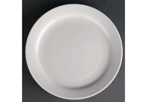 Athena Porcelain Plate with Narrow Edge 15 cm (12 pieces)