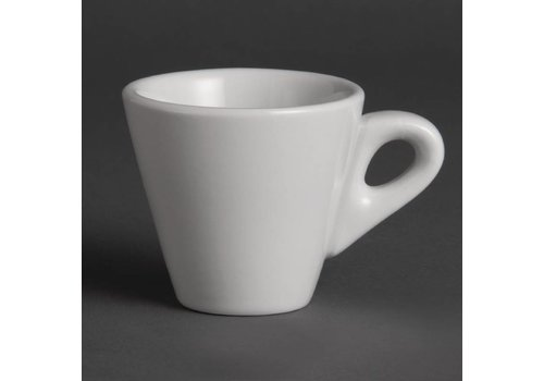 Olympia White porcelain cup for Espresso 6 cl (12 pieces)
