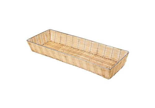 HorecaTraders Stackable bread basket | 60 x 20 x 8 cm