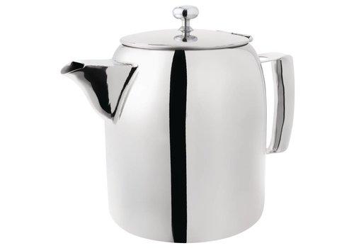 HorecaTraders Cosmos Edelstahl Kaffee / Tee Topf | 0,3 Liter
