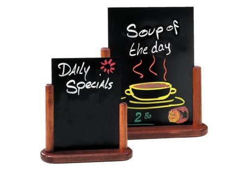 Securit Restaurant Tischplatte | 3 Formate